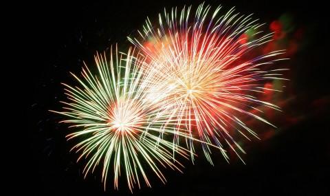Umgang mit Feuerwerk