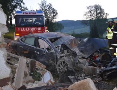 Verkehrsunfall in Weixelbaum
