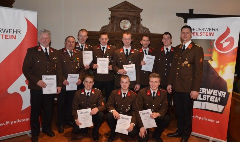 Jahreshauptversammlung der Freiwilligen Feuerwehr Peilstein