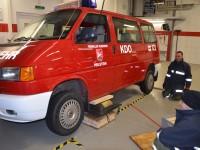 richtige Handhabung der Geräte im Feuerwehrdienst